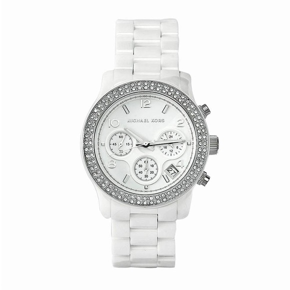 White Michael Kors Watch